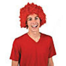 Red Team Spirit Afro Wig - $10.38