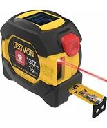 LEXIVON 2 in 1 Digital Laser Tape Measure | 130ft/40m Laser Distance Meter Displ - $42.16