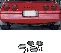 C4 Corvette Tail Light Louver Cover Kit Fits: 84 thru 90 - $48.41