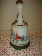 Fenton Glass 1989 Iridescent Christmas Bell - $27.99