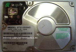 """Seagate ST91350AG 1.3GB 2.5"""" IDE Drive Tested Good Free USA Ship Our Drives Work - $19.55"""