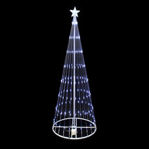12 FT LED Christmas Holiday Light Show Motion 3D Outdoor Decoration Whit... - £301.65 GBP
