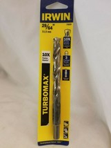 Irwin 73629 29/64 in. x 5-5/8 in. High Speed Steel Drill Bit - $7.78