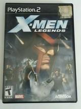 X Men Legends (Sony Playstation 2 ps2) *NO MANUAL* - $8.90