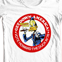 Howard the Duck Presidential Campaign button t-shirt retro vintage marvel comics image 2