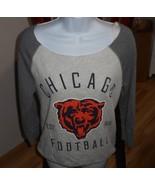 VICTORIA'S SECRET PINK CHICAGO BEARS FOOTBALL GREY SWEATSHIRT PULLOVER T... - $23.09