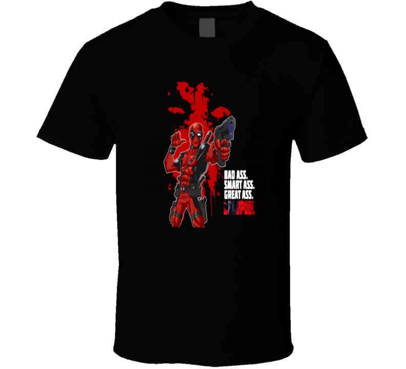 Deadpool 2 Funny Wade Wilson Smart Ass T Shirt