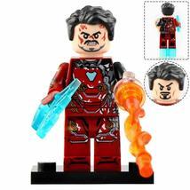 Iron Man MK 50 Battle-Damaged - Avengers Infinity War Marvel Custom Minifigures - $2.99