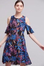 NWT ANTHROPOLOGIE ELIA OPEN-SHOULDER DRESS by MAEVE 10 - $55.99