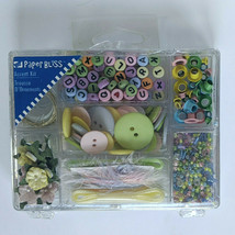 NEW Paper Bliss Accent Kit, SCRAPBOOKING, Pastel Accents for BABY, Weddings - $9.79