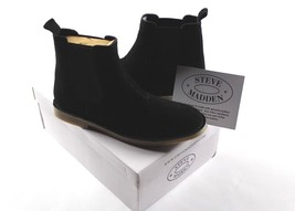 New STEVE MADDEN Mens Size 13 Casual Clint Suede Leather Chelsea Boots B... - $79.15