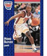 Mookie Blaylock ~ 1991-92 Fleer #128 ~ Nets - $0.05