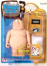 Family Guy Mezco Series 2 Action Figure Naked Peter - $35.15