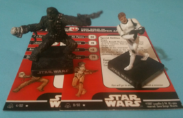 Star Wars Miniatures LOT - Han Solo Stormtrooper Armor / Chewbacca Enraged - A&E - $14.88