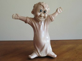 """Vintage RUSS BERRIE & Co 1970 I love you this much 11.5"""" Hug Love Wallace Berrie - $29.99"""