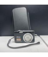 Nikon coolpix S2800 digital camera vintage compact cool pix 20.1 mp blac... - $87.12