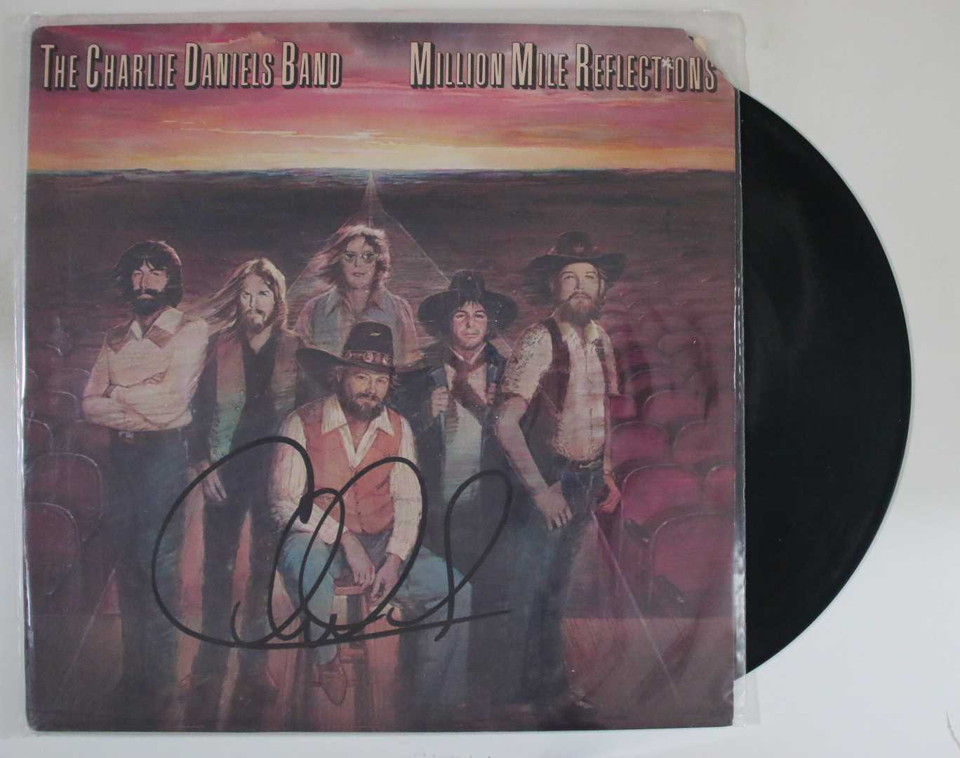 "Primary image for Charlie Daniels Signed Autographed ""Million Mile Reflections"" Record Album"