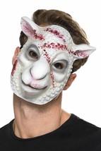 Evil Sheep Killer Mask White, Halloween Fancy Dress Accessories, One Size - $5.86