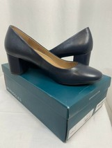 Aerosoles Eye Candy Navy Leather Pumps, Women's 10M, New In Box - $66.49