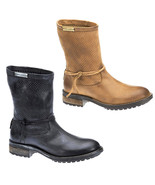 New Women's Harley-Davidson Motorcycle Boots Mid Calf Slip On Shoes Silicia - £75.99 GBP