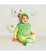 Hyde and Eek Boutique! Baby Plush Cactus Vest Halloween Costume 0-6 Mo N... - $16.47