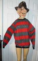 Fri 13th /Halloween Costume Sz XXL Mask, Glove, Hat-Nice # 295 Cosplay T... - $24.99