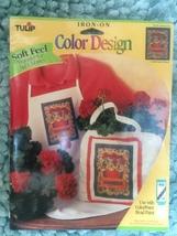 Tulip brand Iron on transfers  -  CCT41 Geraniums  by Sarah Dillard 1996 - $5.00