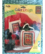 Tulip brand Iron on transfers  -  CCT41 Geraniums  by Sarah Dillard 1996 - $5.00