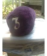 3 Wood Padded Fabric Plush Headcover Purple  - $6.00