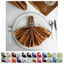 "25""x25"" Satin Linen Napkins for Wedding Birthday Party Tableware 25 PCS ... - $36.63"