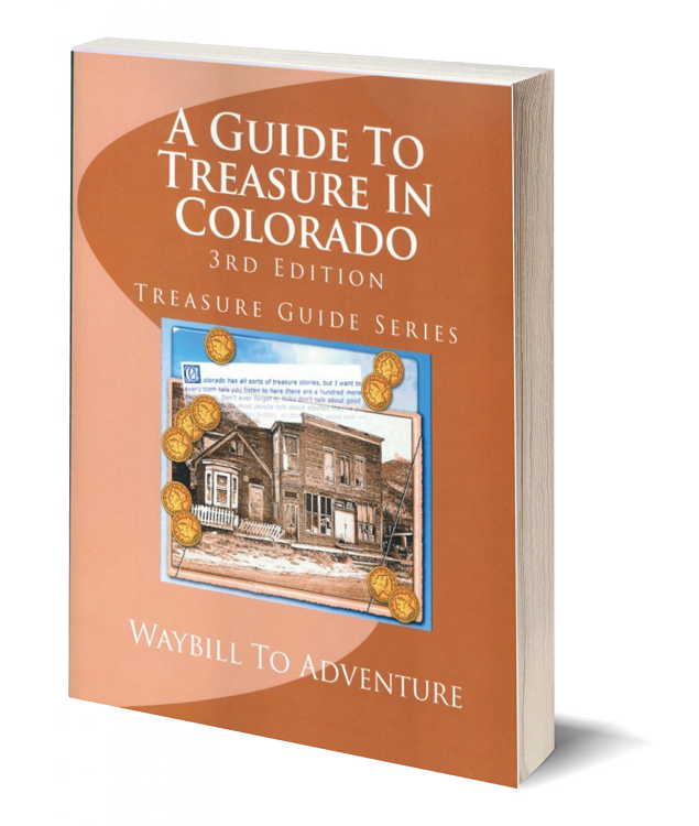 3d book cover a guide to treasure in colorado