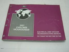 1997 Ford Explorer Mercury Mountaineer Electrical Vacuum Diagnostic Proc... - $25.73