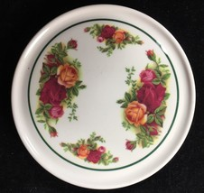 "Nice 5 5/8"" Royal Albert OLD COUNTRY ROSES Melamine Teapot Stand - Clove... - $14.84"