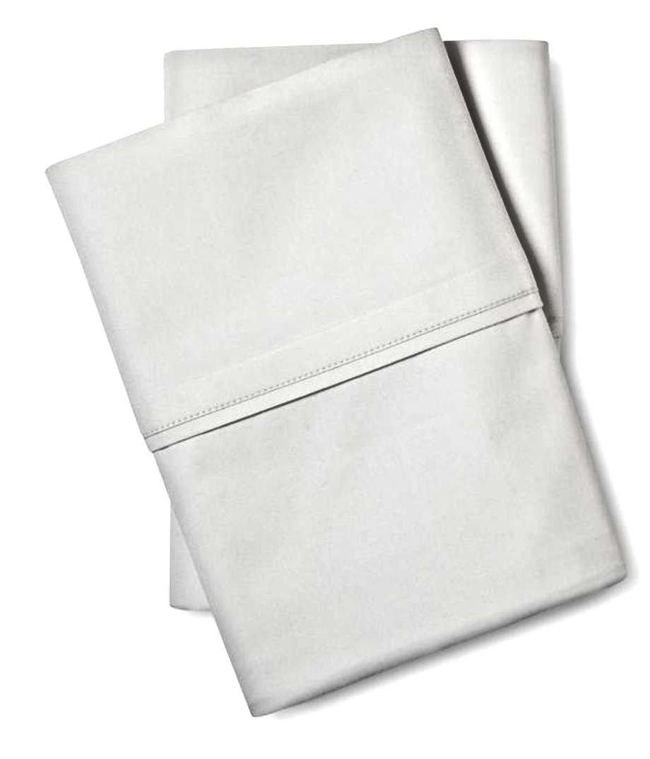 FIELDCREST TENCIL PILLOWCASES COTTON SILKY SOFT SILVER SPRINGS (2 COUNT- (STORE)