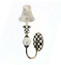MacKenzie-Childs Courtly Check Palazzo Single Sconce - NEW IN BOX - $255.00