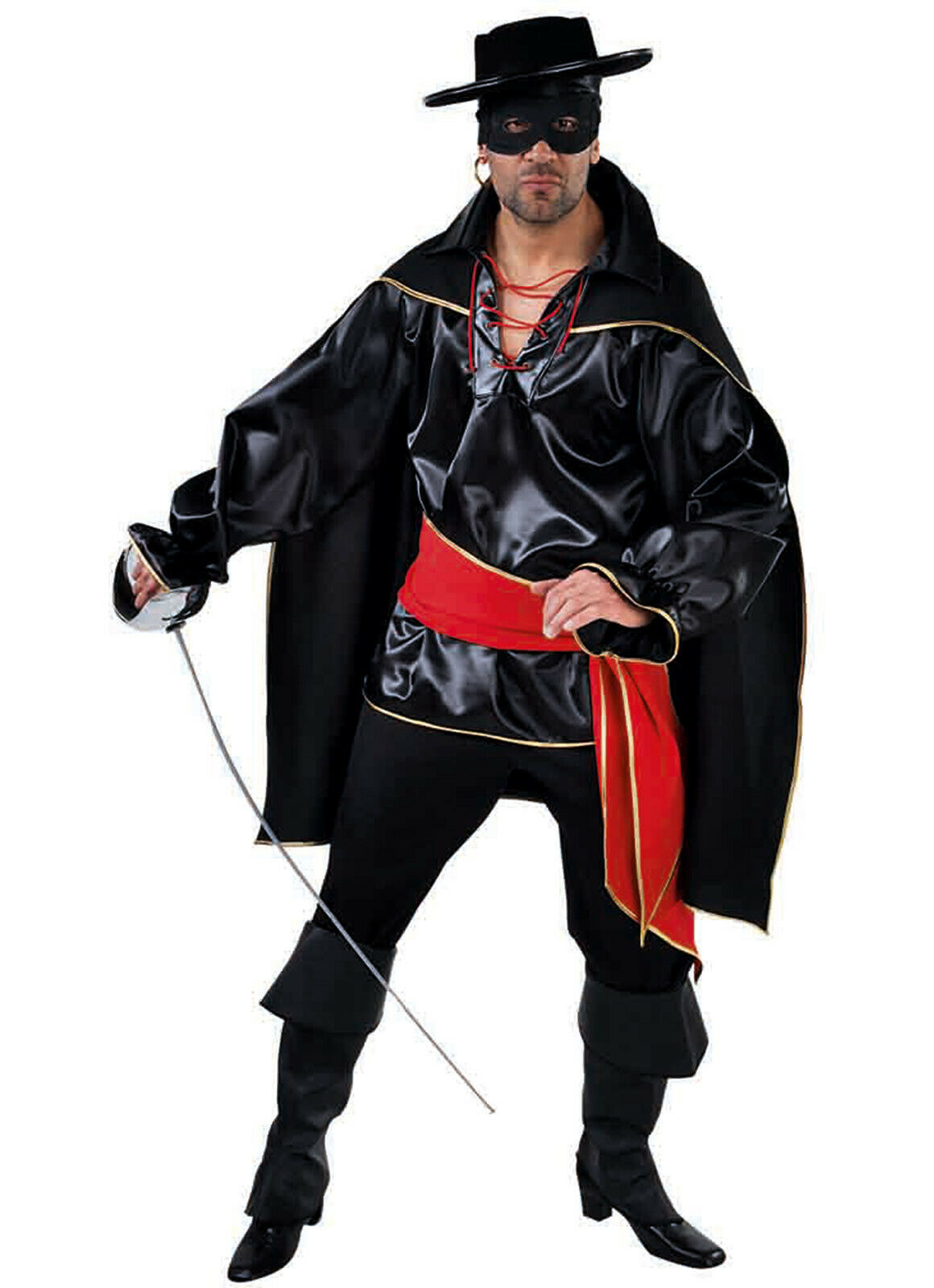 Deluxe Spanish ZORRO Costume