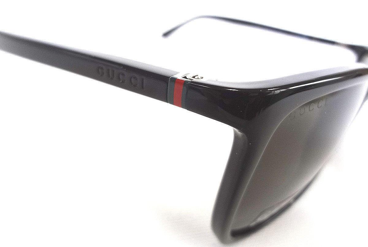 eefaa516a5bda GUCCI Men s Sunglasses GG1132 S Shiny Black 56-17-140 MADE IN ITALY