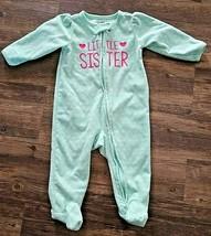CARTER'S Child of Mine Girls Infant Sleeper Little Sister Size 3-6 Months - $9.74
