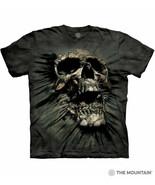 Breakthrough Skull Fantasy Art Hand Dyed Adult T-Shirt, Size 2XL NEW UNWORN - $17.41