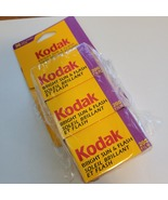 Kodak Bright Sun & Flash 200 Film  Exposures 3 rolls 36x2+24 35mm. New, ... - $16.00