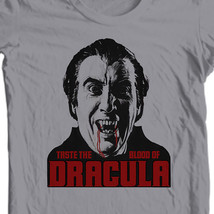 Taste the Blood of Dracula t-shirt Christopher Lee old horror film free shipping image 1