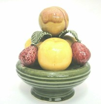 Jay Willfred Andrea by Sadek Fruit Tower Bowl of Strawberries Peach Port... - £21.77 GBP