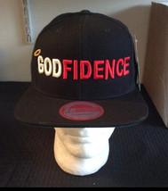 """Unisex """"Godfidence"""" Snapback - $30.00"""