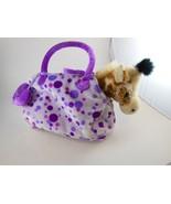 Gigi Giraffe with  Pink Purse Carrier Aurora Toys Fancy Pals 8 inch Plus... - $11.87