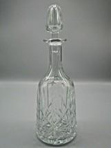"Royal Brierley Ascot Crystal Decanter & Stopper 12 1/4"" Elegant Liquor B... - $76.94"