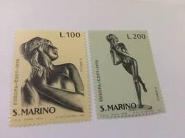 San Marino Europa 1974 mnh     stamps - $1.20
