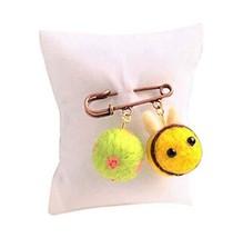 Cute Cartoon Animal Wool Felt Brooch Pin Clothing Accessories, Bee