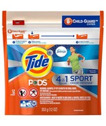 Tide Pods + Febreze 4in1 Sport Odor Defense Active 2 Packs 12 Ct Each HE... - $17.29