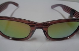 Foster Grant Sunglasses Wood Design Frame Mirrored NWT 100% UVA UVB Protection image 7