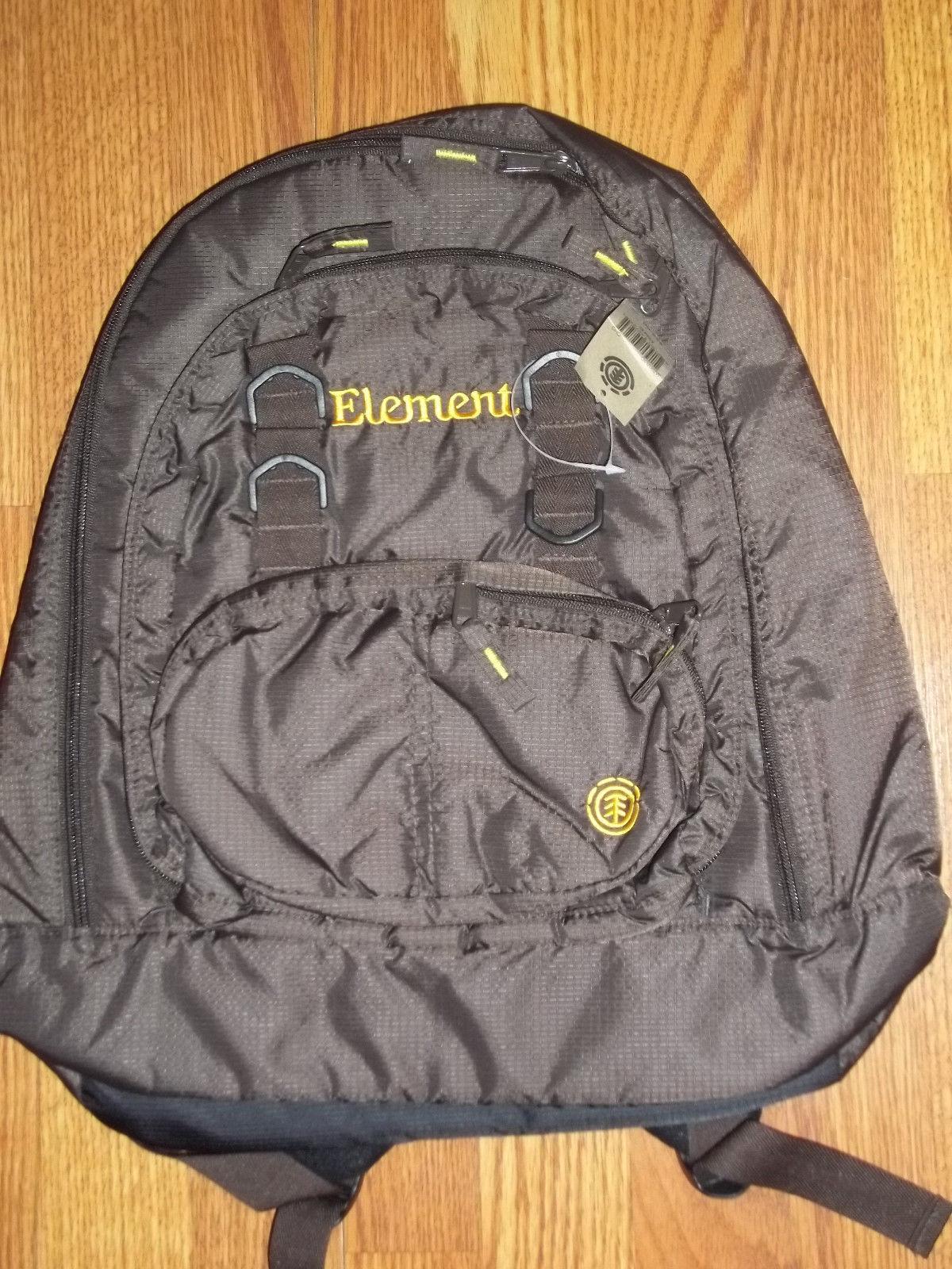 Element Violet Womens Backpack Bag BNWT